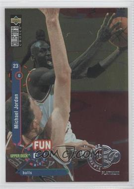 1995-96 Upper Deck Collector's Choice Platinum Player's Club #169 - Michael Jordan