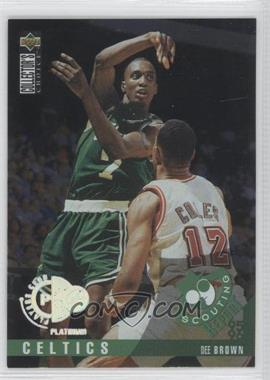 1995-96 Upper Deck Collector's Choice Platinum Player's Club #322 - Dee Brown