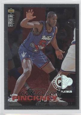 1995-96 Upper Deck Collector's Choice Prize Debut Trade Platinum Player's Club #T24 - Ed Pinckney