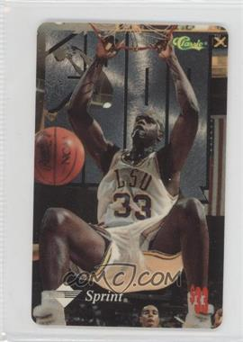 1995 Classic Sprint Shaquille O'Neal Phone Cards #SHON.1 - Shaquille O'Neal ($33)