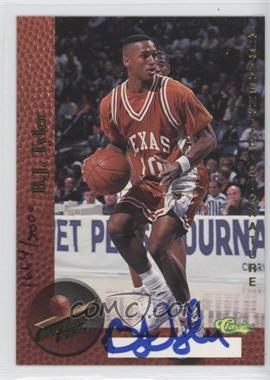 1995 Classic Superior Pix - Autographs #BJTY - B.J. Tyler /3000