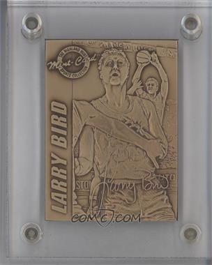 1995 Highland Mint Hardcourt Legends Bronze #1 - Larry Bird
