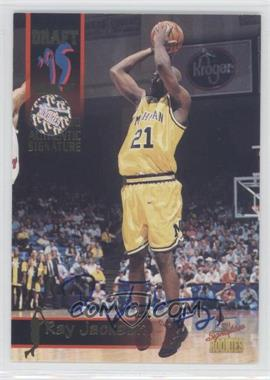 1995 Signature Rookies Draft Day - [Base] - Authentic Signature [Autographed] #48 - Ray Jackson /7750