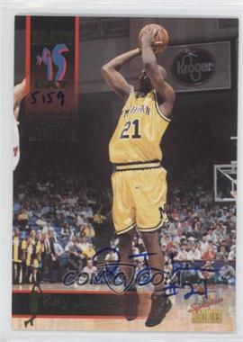 1995 Signature Rookies Draft Day Authentic Signature [Autographed] #48 - Ray Jackson /7750