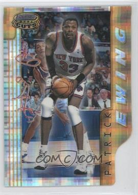 1996-97 Bowman's Best - Cuts - Atomic Refractor #BC13 - Patrick Ewing
