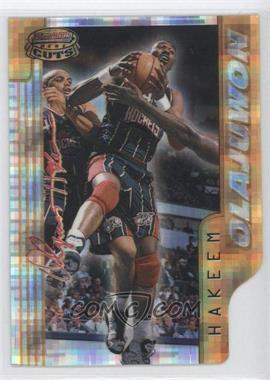 1996-97 Bowman's Best Cuts Atomic Refractor #BC14 - Hakeem Olajuwon