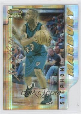 1996-97 Bowman's Best Picks Atomic Refractor #BP1 - Stephon Marbury