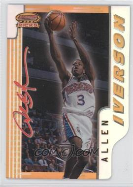 1996-97 Bowman's Best Picks Refractor #BP9 - Allen Iverson