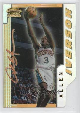 1996-97 Bowman's Best Picks Refractor #BP9 - Allen Iverson