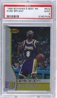 1996-97 Bowman's Best Rookies #R23 - Kobe Bryant [PSA9]