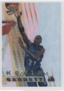 1996-97 Bowman's Best Shots #BS5 - Kevin Garnett