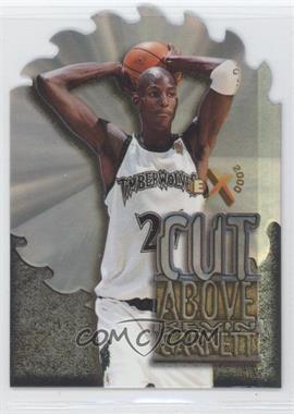 1996-97 EX2000 - A Cut Above #1 - Kevin Garnett