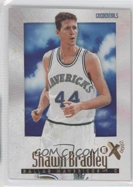 1996-97 EX2000 Credentials #14 - Shawn Bradley /499