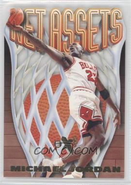 1996-97 EX2000 Net Assets #8 - Michael Jordan