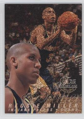 1996-97 Flair Showcase Row 0 #18 - Reggie Miller