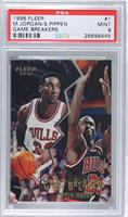 Scottie Pippen, Michael Jordan [PSA 9]
