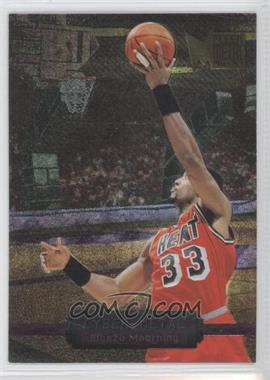 1996-97 Fleer Metal - Cyber-Metal #11 - Alonzo Mourning