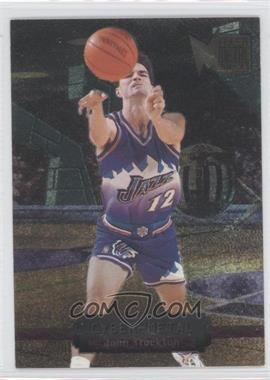 1996-97 Fleer Metal Cyber-Metal #19 - John Stockton