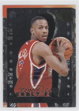 1996-97 Fleer Metal Freshly Forged #8 - Allen Iverson