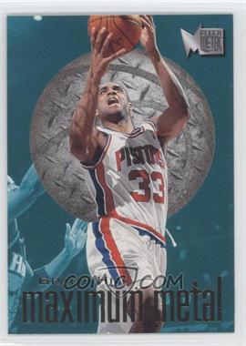 1996-97 Fleer Metal Maximum Metal #3 - Grant Hill