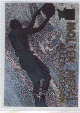 1996-97 Fleer Metal Molten Metal #17 - Allen Iverson