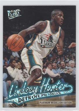 1996-97 Fleer Ultra - [Base] - Platinum Medallion Edition #P-180 - Lindsey Hunter