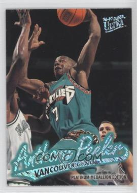 1996-97 Fleer Ultra - [Base] - Platinum Medallion Edition #P-259 - Anthony Peeler