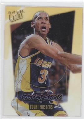 1996-97 Fleer Ultra Court Masters #13 - Reggie Miller