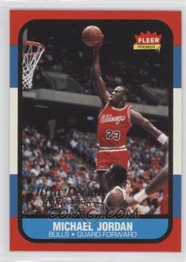 1996-97 Fleer Ultra Fleer Premiere Ultra Decade 1986 Reprints #U-4 - Michael Jordan