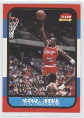 1996-97 Fleer Ultra Fleer Premiere Ultra Decade 1986 Reprints #U-4 - Michael Jordan