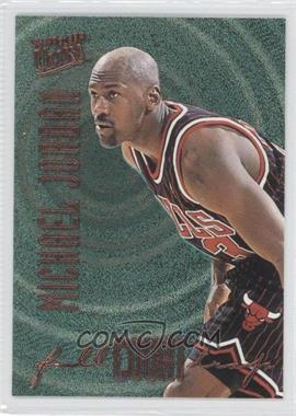 1996-97 Fleer Ultra Full Court Trap Gold Embossed #1 - Michael Jordan