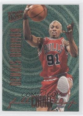 1996-97 Fleer Ultra Full Court Trap Gold Embossed #5 - Dennis Rodman