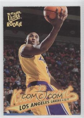 1996-97 Fleer Ultra Gold Medallion Edition #G-52 - Kobe Bryant