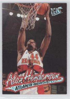 1996-97 Fleer Ultra Platinum Medallion Edition #P-2 - Alan Henderson
