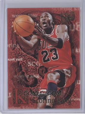 1996-97 Fleer Ultra Scoring King #4 - Michael Jordan [Near Mint]