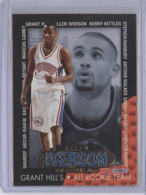 1996-97 NBA Hoops Grant Hill's All Rookie Team #6 - Allen Iverson