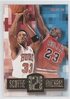 Scottie Pippen, Michael Jordan
