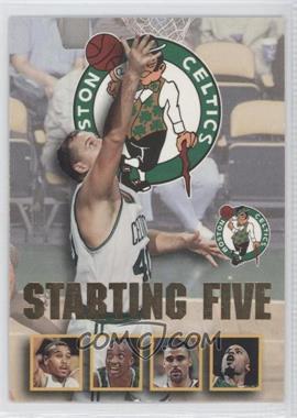 1996-97 NBA Hoops Starting Five #2 - Boston Celtics Team