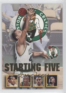 1996-97 NBA Hoops Starting Five #2 - Dino Radja, Dana Barros, Dee Brown, Rick Fox, Todd Day (Boston Celtics)