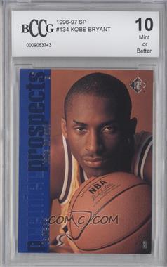 1996-97 SP - [Base] #134 - Kobe Bryant [ENCASED]