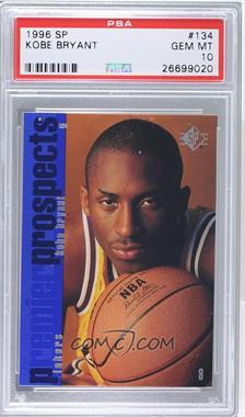 1996-97 SP - [Base] #134 - Kobe Bryant [PSA10]