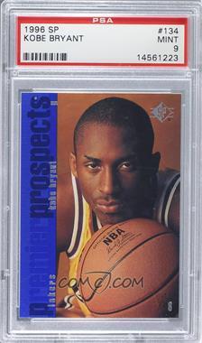 1996-97 SP - [Base] #134 - Kobe Bryant [PSA9]