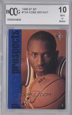 1996-97 SP #134 - Kobe Bryant [ENCASED]