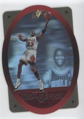 1996-97 SPx - [Base] - Gold #8 - Michael Jordan