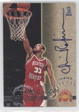 1996-97 Score Board Autographed Basketball - Autographs #CHRO - Chris Robinson