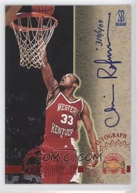 1996-97 Score Board Autographed Basketball Autographs #N/A - Chris Robinson