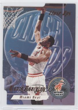 1996-97 Skybox Premium Close Ups #CU 6 - Alonzo Mourning