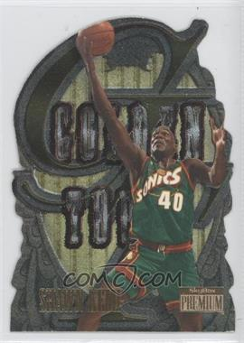 1996-97 Skybox Premium Golden Touch #6 - Shawn Kemp