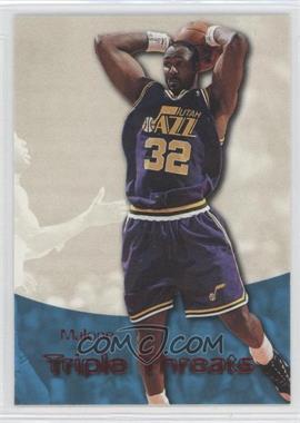 1996-97 Skybox Premium Triple Threats Star Rubies #TT8 - Karl Malone