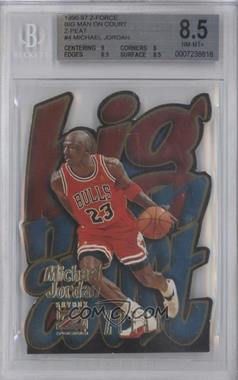1996-97 Skybox Z Force Big Men on Court Zpeat #4 - Michael Jordan [BGS 8.5]